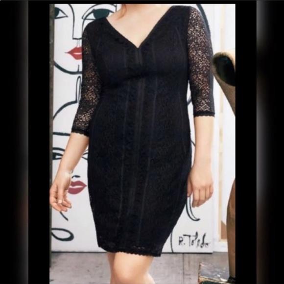 1aef61ed89b Isabel Toledo for Lane Bryant dress